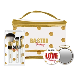 Sparkle Set, Bag, Brushes & Mirror