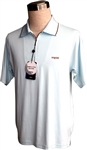 Sun Safe, UV Protected Polo Shirt  : Pale Blue