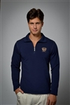 Long sleeve UV sun safe jumper in Deep Blue
