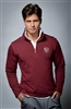 Long sleeve UV sun safe jumper in maroon Red