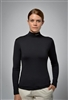 UV sun safe protected High Tech Polo neck - Black