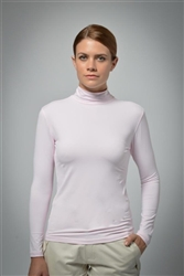 UV sun safe protected High Tech Polo neck - Pink