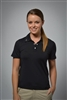 Sun Safe, UV Protected Polo Shirt: Black