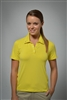 Sun Safe, UV Protected Polo Shirt: Yellow