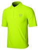 Sun Safe, UV Protected Polo Shirt: Lime Green