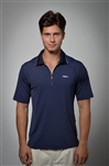 Sun Safe, UV Protected Polo Shirt: Deep Blue