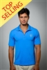 Sun Safe, UV Protected Polo Shirt: Royal Blue