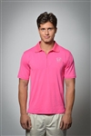 Sun Safe, UV Protected Polo Shirt: Fuchsia