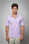Sun Safe, UV Protected Polo Shirt: Lavender