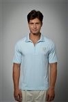 Sun Safe, UV Protected Polo Shirt: Sky Blue(Japan)