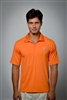 Sun Safe, UV Protected Polo Shirt: Orange