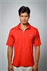 Sun Safe, UV Protected Polo Shirt: Red