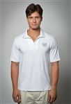 Sun Safe, UV Protected Polo Shirt: White