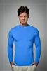 UV sun safe protected High Tech Polo necks  - Royal Blue