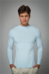UV sun safe protected Crew necks - Sky Blue