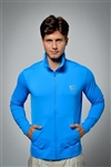 Sun safe, UV protected zip up jacket top: Royal Blue