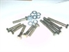 Bolt Kit, High Strength Grade 10.9 (Hex Head, ) - GX160 & GX200, 6.5 Chinese OHV, 212 Predator