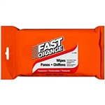 Hand Cleaner Wipes, Fast Orange