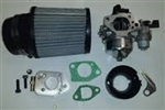 Carb Kit, 390 Carb to GX200 (GX160), 6.5 Chinese OHV, & 212 Predator, Flat Mount