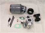 Carb Kit, 390 Carb to GX200 (GX160), 6.5 Chinese OHV, & 212 Predator, Long Adapter