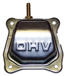 Cover, Valve, GX200 (6.5 hp OHV) : Aftermarket Replacement, with Pulse Fitting