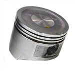 Piston, 6.5 OHV & GX200, Dished, OVERSIZED : Aftermarket Replacement (Chinese)