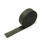 "Header & Exhaust Wrap, 2"" x 50 Ft. - Black"