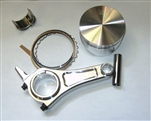 "Forged Piston & Long Rod Combo for GX200 & 196cc ""Clones, 2 Ring"