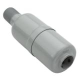 "Muffler, Screw In, Small (1/2"" NPT)"