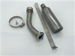 Exhaust System, Marine, Stainless Steel, Mud Motors & Skipper, GX200 & 212 Predator