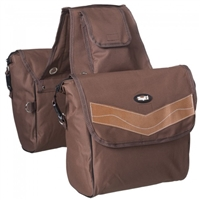 Insulated Saddle Bag- Black or Brown