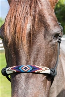 Professionals Choice Beaded Rope Halter-Multiple Colors