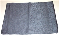 Wyoming Traders 100% Silk Wild Rag Scarf- Jacquard Charcoal