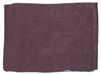 Wyoming Traders 100% Silk Wild Rag Scarf- Jacquard Chocolate