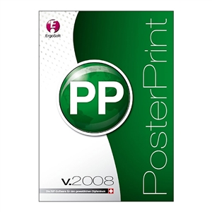 Ergosoft PosterPrint Pro V. 14 RIP Software with Color GPS Profiler Included