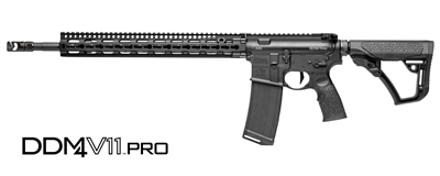 "Daniel Defense M4 Carbine, v11 Pro Series (18"" Barrel/Rifle Gas)"