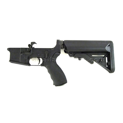 LMT AR15 Defender Lower Receiver, SOPMOD Stock, Standard Trigger and Ambi Selector