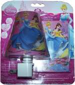 Disney Princess Automatic LED Nite Lite And Princess Switch Plate Covers, D1121C