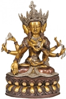 Namgyalma Brass Statue 13.5 inches