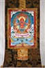 Garuda Brocaded Thangka 50 inches