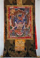 Chakrasabara Brocaded Thangka 50 inches