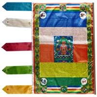 Large Amitayus Prayer Flag 3 Feet