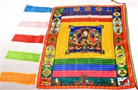 Large Guru Rinpocheb  Prayer Flag 3 Feet