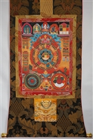 Extra Large Srid Pa Ho Protection Thangka