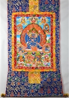 Yamantaka Solitary Hero Thangka 50 Inches