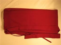 Meditation Skirt / 1/2 Chuba Maroon