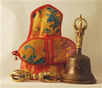 Small 3 Metal Bell and Dorje