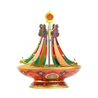 Amithaba Subjugating Mandala Incense Burner