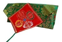 Brocade Text Cover / Puja Table Cloth