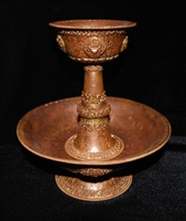 Extra Large Hand Carved Copper Serkyem Set
